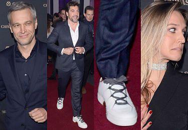 Javier Bardem w szpitalnych butach i eleganccy Żebrowscy pozują na imprezie whisky (ZDJĘCIA)