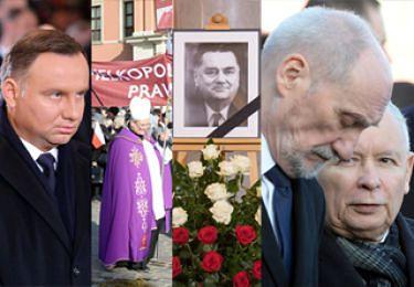 Tak wyglądało ostatnie pożegnanie Jana Olszewskiego (ZDJĘCIA)