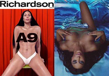 """Półnaga Kim Kardashian o swojej seksualności: """"Czuję się nieswojo, kiedy mówię o seksie. Jestem KONSERWATYWNA W TYM TEMACIE"""""""