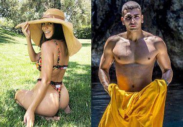 """Chłopak Kourtney Kardashian ma jej za złe, że wrzuca seksowne zdjęcia! Twierdzi, że """"desperacko walczy o lajki""""..."""