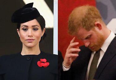 """Książę Harry martwi się o Meghan: """"Czuje presję wiszącą nad ich małżeństwem"""""""