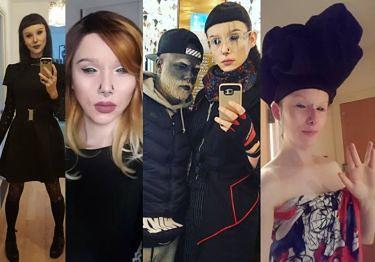 Tak wygląda TRANSSEKSUALNA przyjaciółka wytatuowanego 32-latka z Poznania. Zrobi karierę? (ZDJĘCIA)