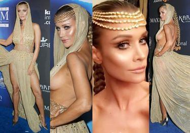 Krupa już straszy: Na Halloween przebrała się za Kleopatrę (ZDJĘCIA)