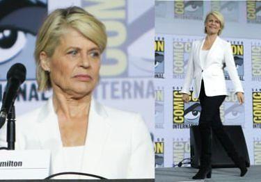 """62-letnia Linda Hamilton o ocenianiu wyglądu aktorek: """"To tylko skóra. Nie rozumiem, dlaczego nie możemy być autentyczni"""""""