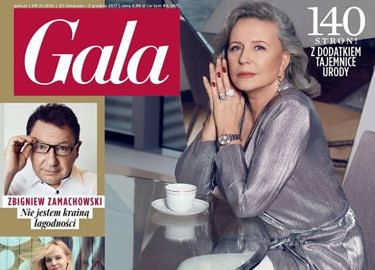 """Krystyna Janda """"czeka na lepsze czasy"""" w """"Gali"""""""