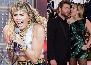 """Miley Cyrus w najnowszej piosence śpiewa o rozstaniu z Liamem Hemsworthem? """"Czas odpuścić, iść do przodu, nie mamy 17 lat"""""""