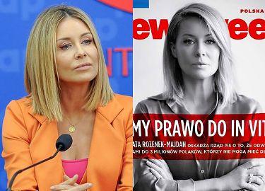 """Małgorzata Rozenek ostro o politykach PiS: """"Dlaczego państwo nie dostrzega cierpienia tak wielu swoich obywateli?"""""""