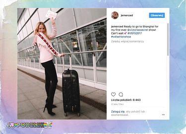 Jessica Mercedes leci do Chin