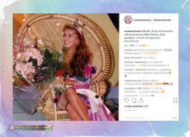 Wachowicz wspomina zdobycie tytułu Miss Polonia