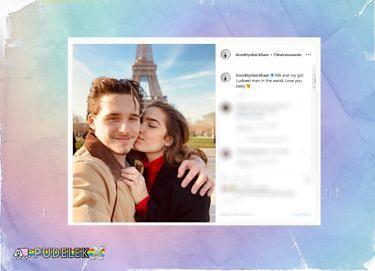 """Brooklyn Beckham z nową dziewczyną jako """"najszczęśliwszy mężczyzna na świecie"""""""