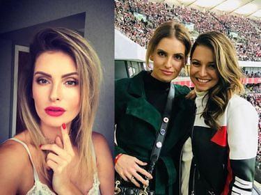 """Dominika Grosicka o przyjaźni z Lewandowską: """"Zawdzięczam jej swoją figurę!"""""""