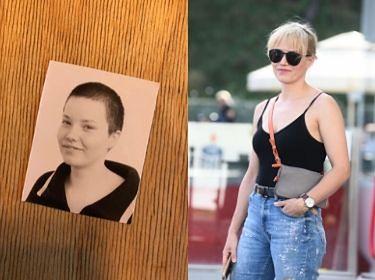 """Roma Gąsiorowska chwali się zdjęciem z czasów szkolnych: """"A takim byłam kurczaczkiem"""" (FOTO)"""