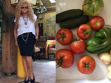 """Magda Gessler pochwaliła się odchudzoną sylwetką: """"Tak się mam po pomidorach i miłości"""""""