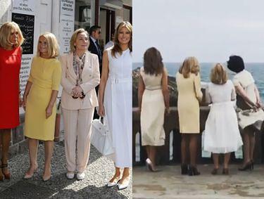 """Donald Tusk pokazał nagranie z żonami polityków: """"Melania, Brigitte, Małgosia i Akie. Jasna strona mocy"""""""