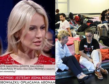 """Magda Ogórek wytknęła głodującym lekarzom PICIE LATTE! """"Oni tam sobie robią KURACJĘ ODCHUDZAJĄCĄ"""""""