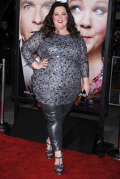 Melissa McCarthy nie walczy ze swoją wagą