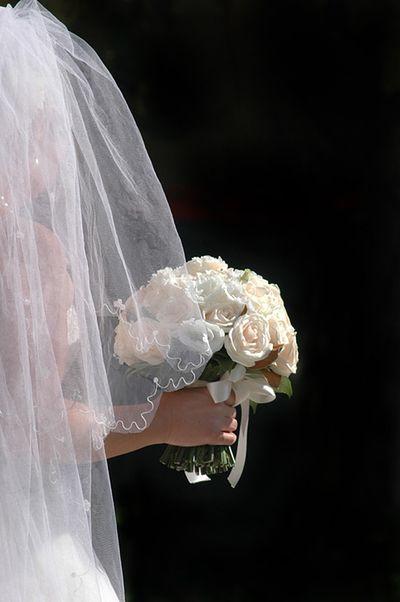 Ślubne misie zamiast kwiatów