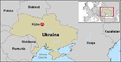 Ukraina Polityczna Militarna I Ekonomiczna Mapa Kryzysu