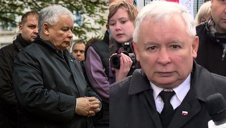Kaczyński Francuzi bądźcie dzielni bądźcie silni ŻAL I BÓL bardzo wiele żalu