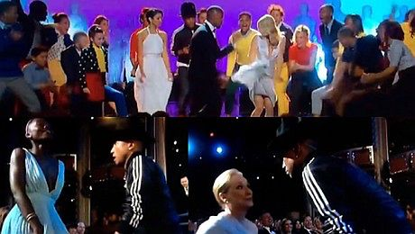 Gwiazdy śpiewają Happy na Oscarach