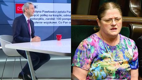 Robert Biedroń odpowiada Krystynie Pawłowicz Zapraszam panią poseł na wspólne dwutygodniowe szkolenie wojskowe