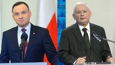 Kaczyński wbija szpilę Dudzie 24 lipca zmieniły się okoliczności polityczne Proces zmian jest trudniejszy