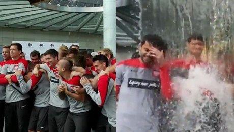 Polscy piłkarze też zrobili splasha