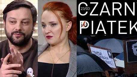 Pudelek wspiera Czarny Piątek Apelujemy do Was bądźcie tam Tu nie chodzi o aborcję a o wolność
