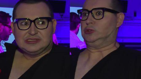 Ożywiony Witkowski narzeka W świecie polskiej mody nie ma ironii Wszyscy są poważni