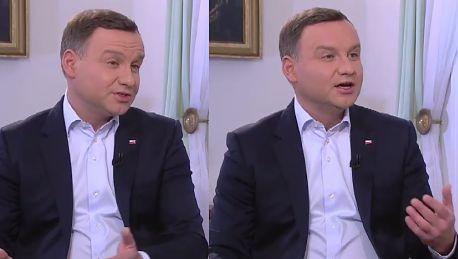 Duda w TVN ie Jestem bezpardonowo i OSOBIŚCIE ATAKOWANY przez panią premier