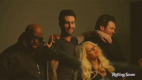 Aguilera i Levine promują 2 edycję The Voice