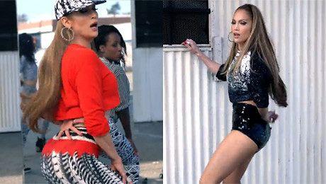 Jennifer Lopez trzęsie tyłkiem
