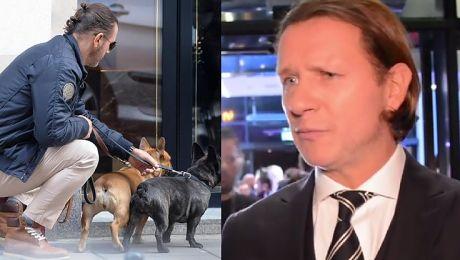 Majdan żali się na sąsiada Przeszkadzają mu nasze psy