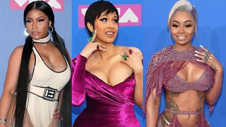 Oceniamy kreacje z gali MTV VMA 2018 Minaj i Chyna konkurowały o tytuł miss depilacji