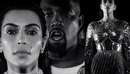 Zobaczcie nowy klip Kanye Westa W roli głównej oczywiście Kim Kardashian