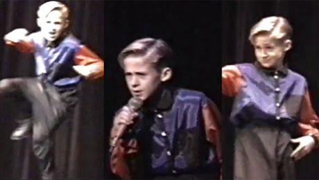 11 letni Ryan Gosling ŚPIEWA Poznajecie