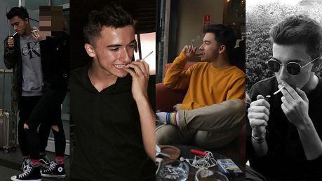 17 letni syn Tadli ma trochę ZA DUŻO PIENIĘDZY i WOLNOŚCI Pozuje z piwem i szlugiem na każdym zdjęciu