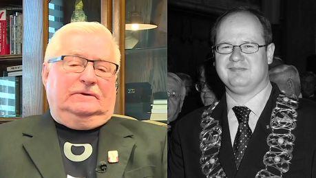 Wałęsa o Adamowiczu Nadawał się na prezydenta Polski