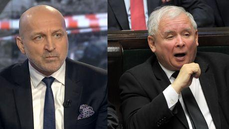 Marcinkiewicz Kaczyński jest strasznie silnym człowiekiem jeśli potrafi tak grać śmiercią brata