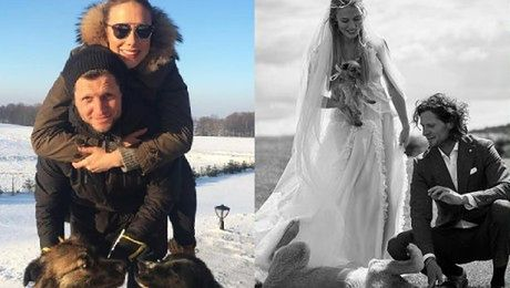 Klimas spodziewa się dziecka Nietrudno ukryć ślub kiedy wszyscy mają cię w nosie