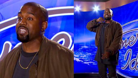 Kanye West na castingu do amerykańskiego Idola
