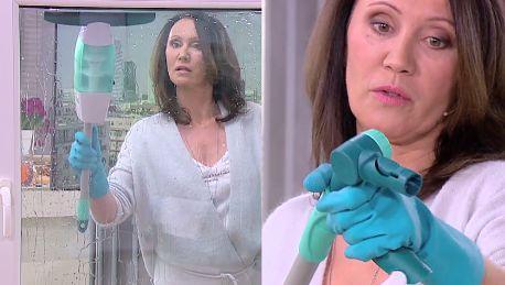 Była żona Ibisza myje okno w Dzień Dobry TVN Jak już zacznę to muszę skończyć