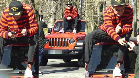 Kuba gdzie jest Wally Wojewódzki miota się na dachu Jeepa