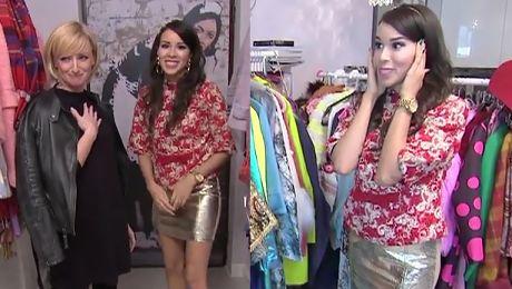 Macademian Girl pokazuje szafę Ta kamizelka jest od Dolce Gabbana Kupiłam ją za 40 euro