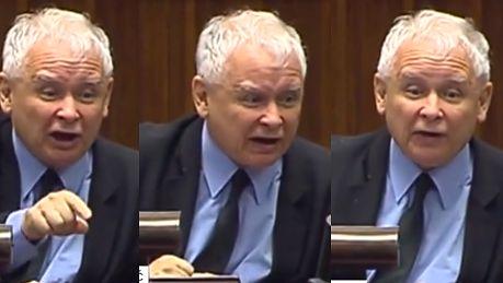 Wściekły Kaczyński w Sejmie Nie wycierajcie MORD ZDRADZIECKICH nazwiskiem mojego świętej pamięci brata Zniszczyliście go ZAMORDOWALIŚCIE jesteście kanaliami