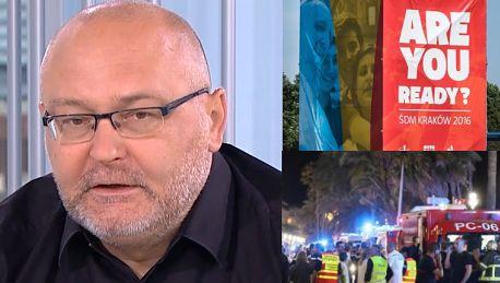 Ekspert od terroryzmu w TVN ie Wszyscy będziemy żyli świętem ŚDM w kontekście zagrożenia atakiem