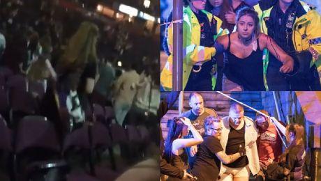 Mamy nagranie z momentu wybuchu na stadionu w Manchesterze