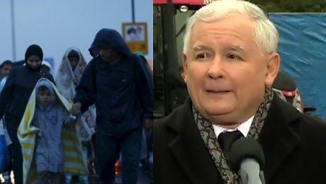 Kaczyński broni słów o imigrantach Jeżeli mamy tutaj nazizm to jest NAZIZM TEGO RZĄDU