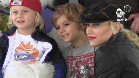 Gwen Stefani z synami w Los Angeles