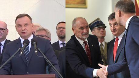 Duda krytykuje Macierewicza Polska armia to NIE JEST ARMIA PRYWATNA